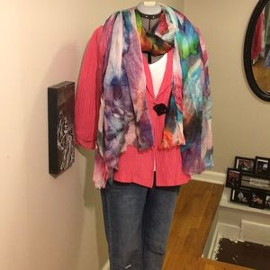 IC by Connie K Silk-Linen Blend Jacket